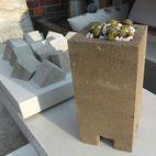 Concrete garden element