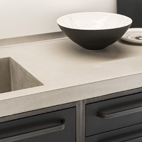 Concrete design - Kitchen detail