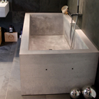 Concrete design - Bathtub