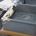 Concrete workshop - Sink